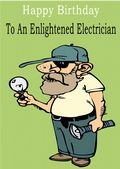 Electrician - Greeting Card